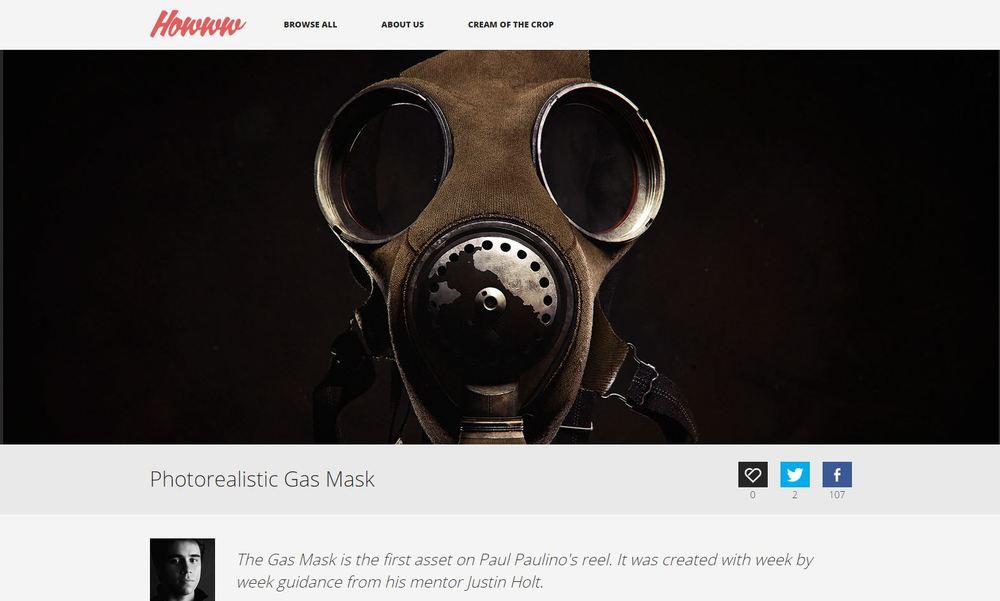 Gas mask Howww