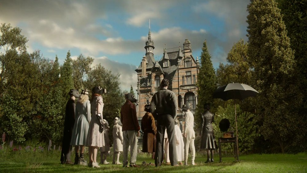 Think Tank For Peculiar Children - Screenshot from Miss Peregrine's Home for Peculiar Children (2016) trailer.