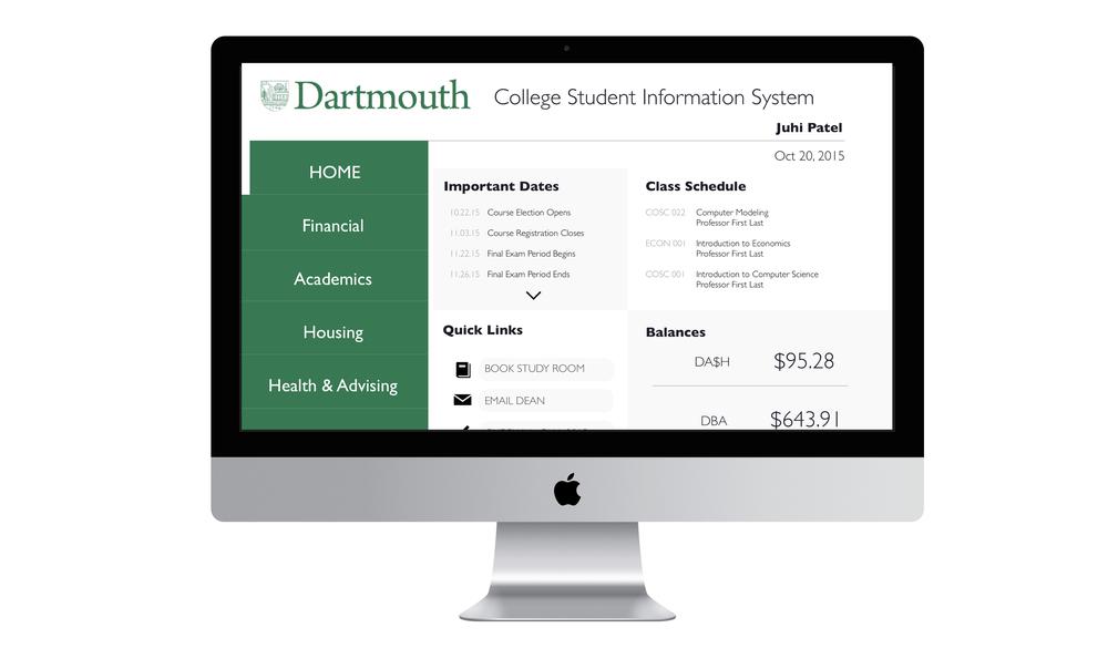 dartmouth resume book
