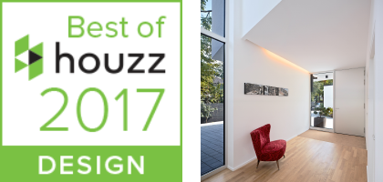 Best Of Houzz Award 2017 / Architekturfotografie für Marcus Hofbauer, Mainz