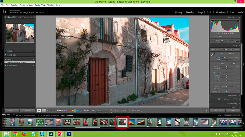 Open Lightroom & see your auto-imported images !