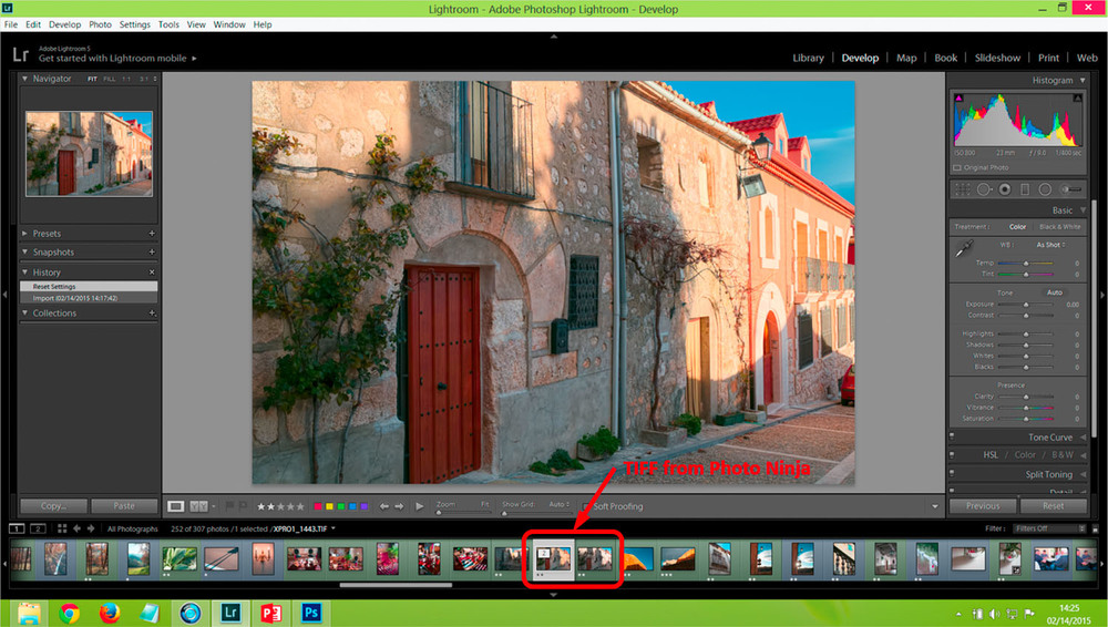 Photo Ninja overwrites the TIF file in Lightroom !