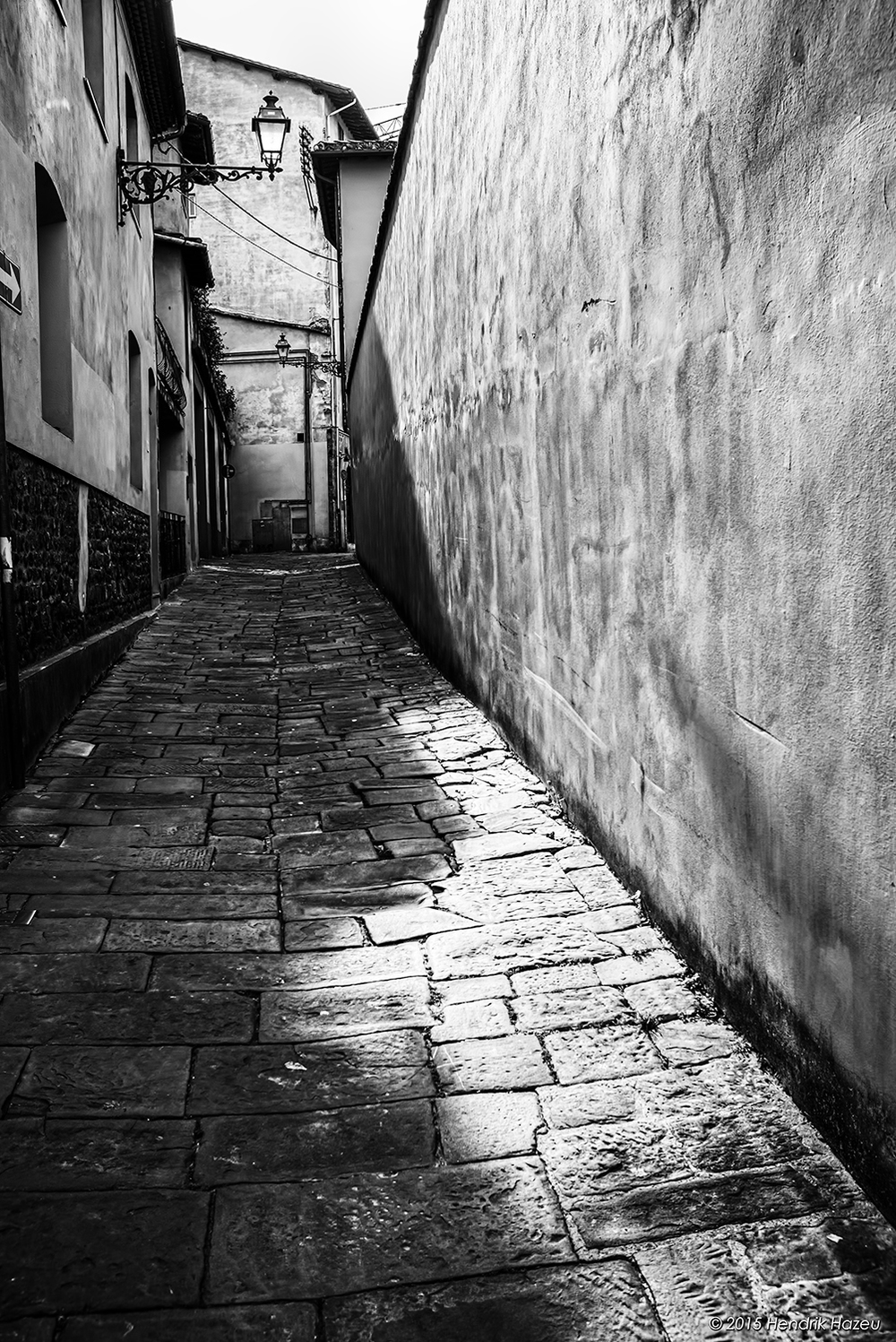 Back Alley in Montecatini Terme, Tuscany