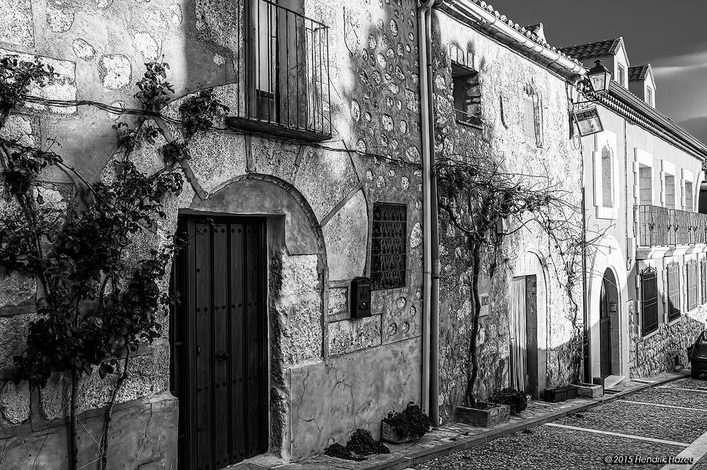 Façade in Buitrago de Lozoya