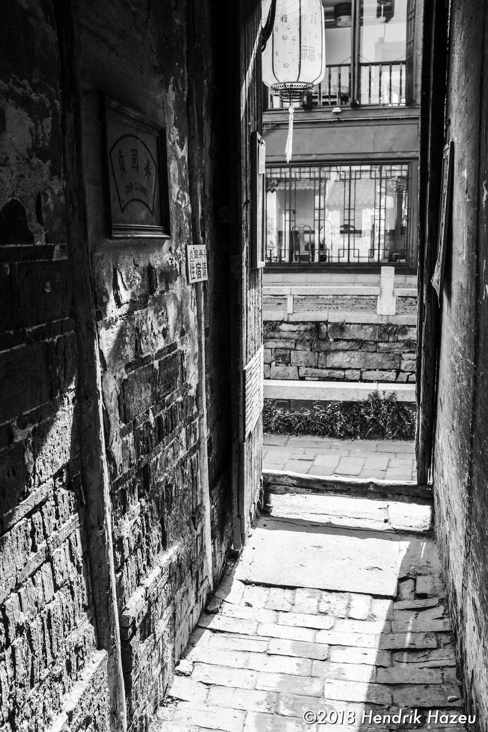 Chinese doorway, Fuji X100F, 23mm f/2 @f/5.6, 1/220sec ISO400 developed in LR CC mobile