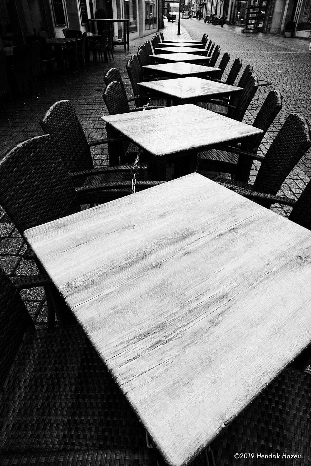 Tables for diamonds, Fuji X-H1 with XF 14mm f/2.8 @f/8, 1/60 sec, ISO 400 using ACROS-R JPEG