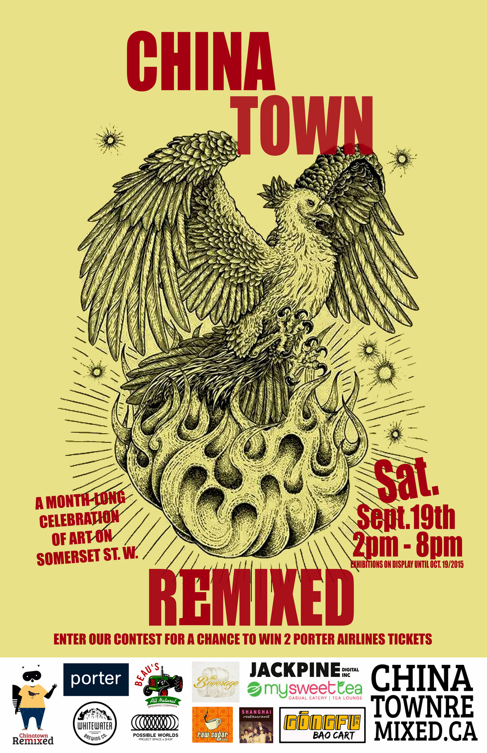 chinatown remixed 2015 flyer