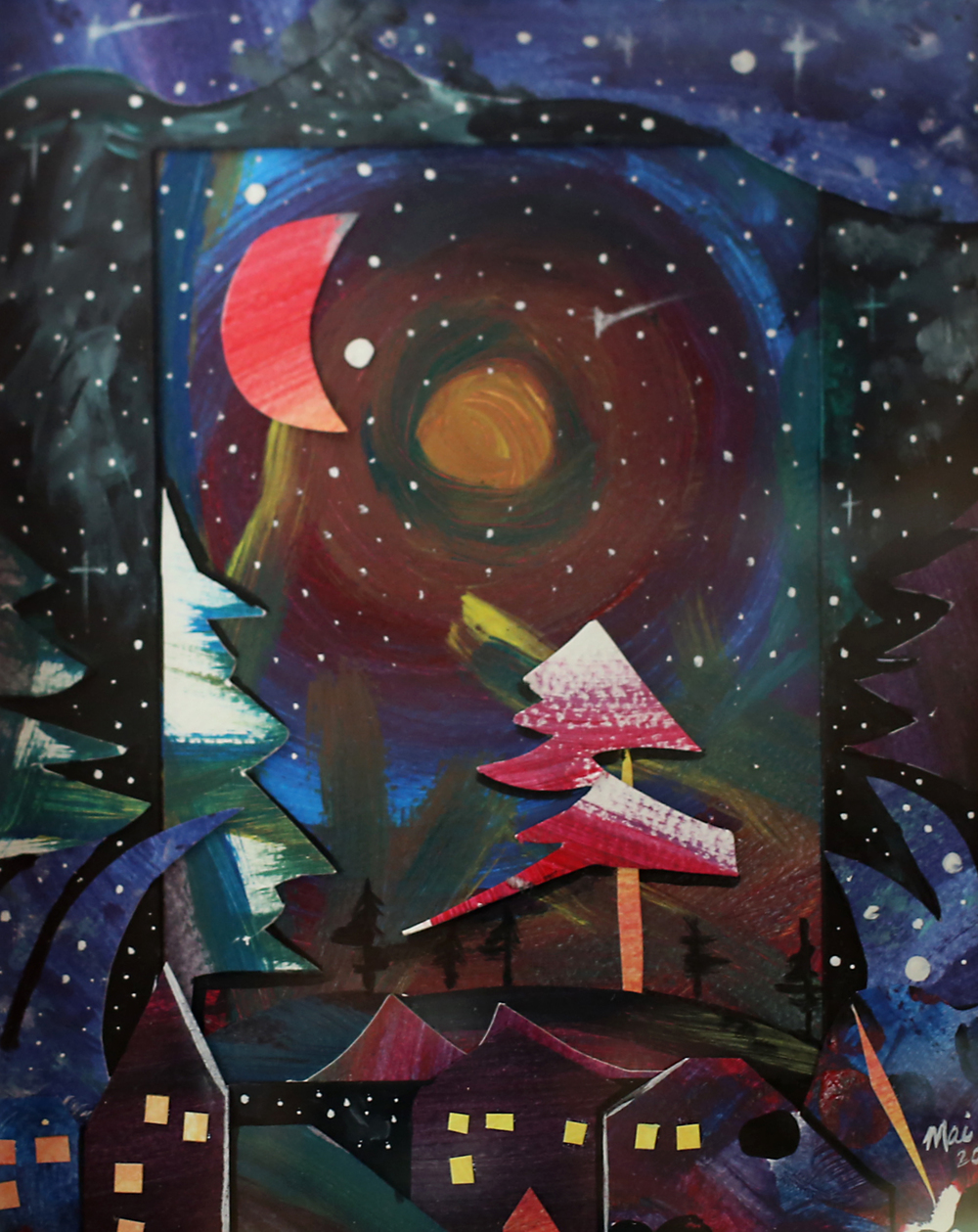 starry night in the country_mailyne artist_dream love grow.jpg