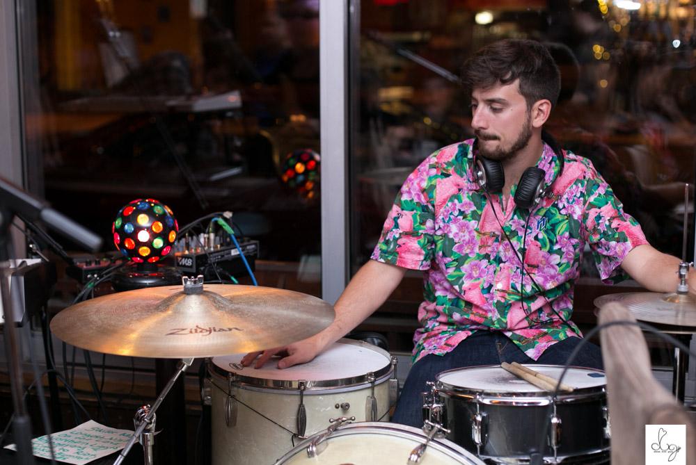 kevin ledlow: drummer