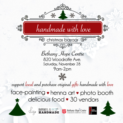 handmade with love november craft show ottawa