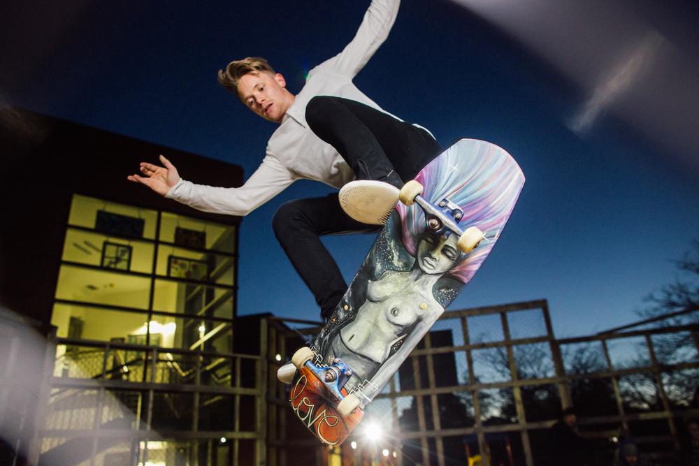 ottawa female skater skateboard artist vancouver filipino