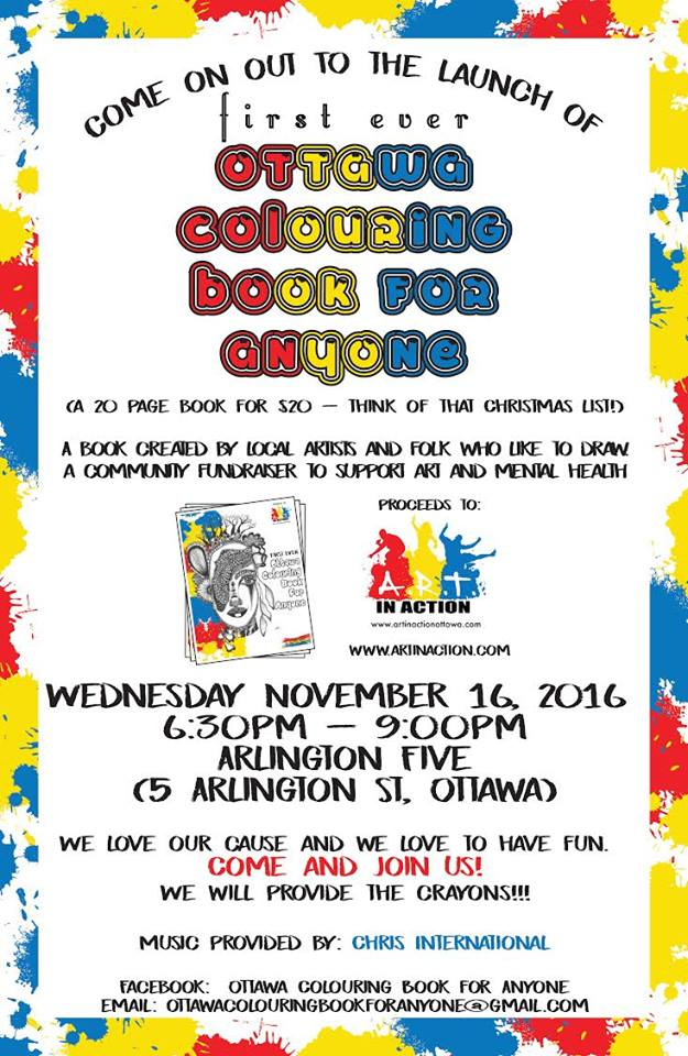 ottawa launches first ever colouring book