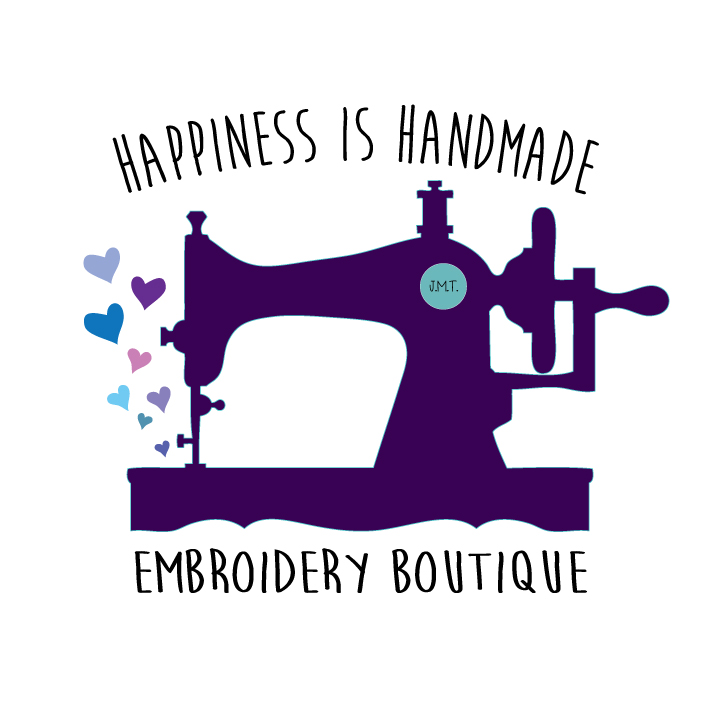 happiness is handmade custom embroidery boutique
