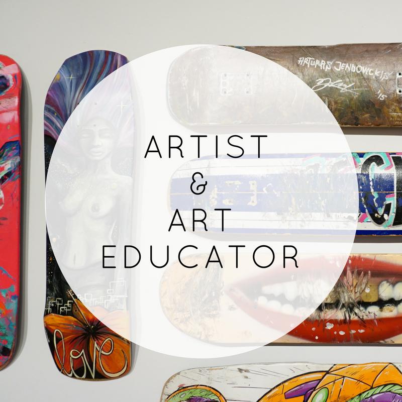 mailyne art educator artpreneur artist
