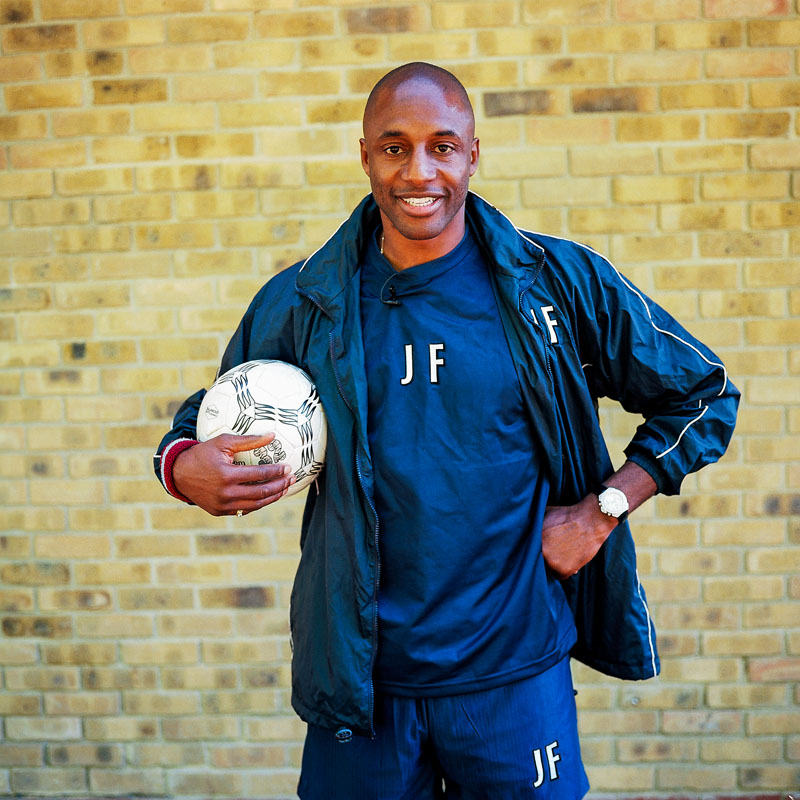 John Fashanu, ex footballer