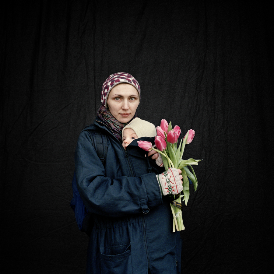 © Anastasia Taylor-Lind. From the series   Maidan, Portraits from the Black Square