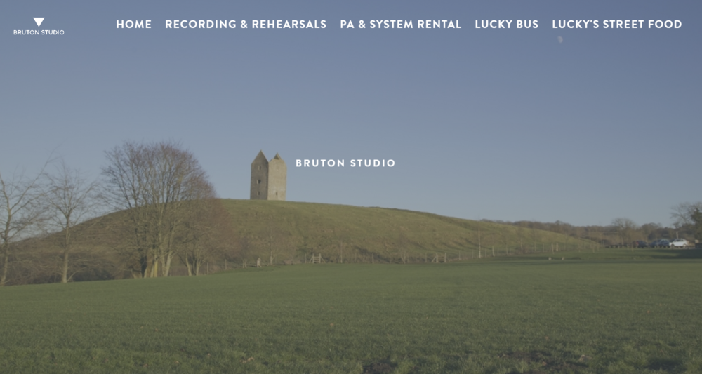 WEBSITE & DIGITAL CREATIVE FOR BRUTON STUDIO - BRUTON STUDIO NEEDED A WEBSITE TO ATTRACT SINGERS, PRODUCERS AND GENERAL COOL PEEPS!