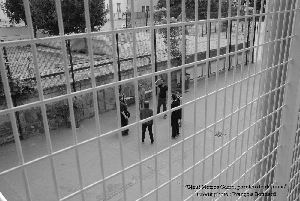 """Répétitions """"Neuf mètres carrés, paroles de détenus"""""""