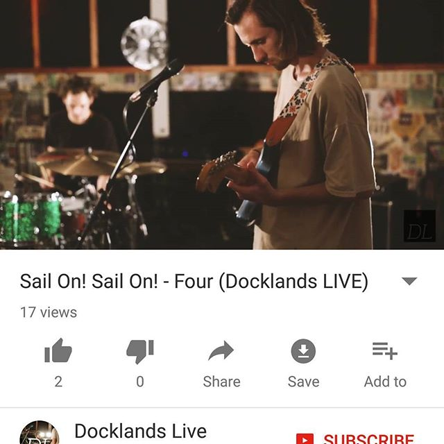 'Four' is now live on Docklands Live. Check it out on YouTube!