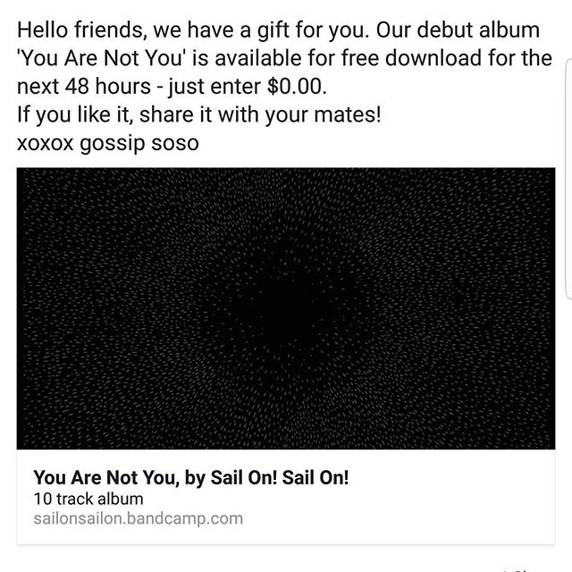 Hit up sailonsailon.bandcamp.com, link in our bio! #emo #skramz #perthmusic #perthisokay #posthardcore #bandcamp #Perth #emomusic