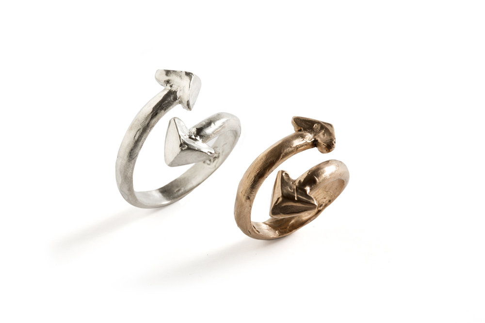 Ring ARROW in bronze or silver.jpg