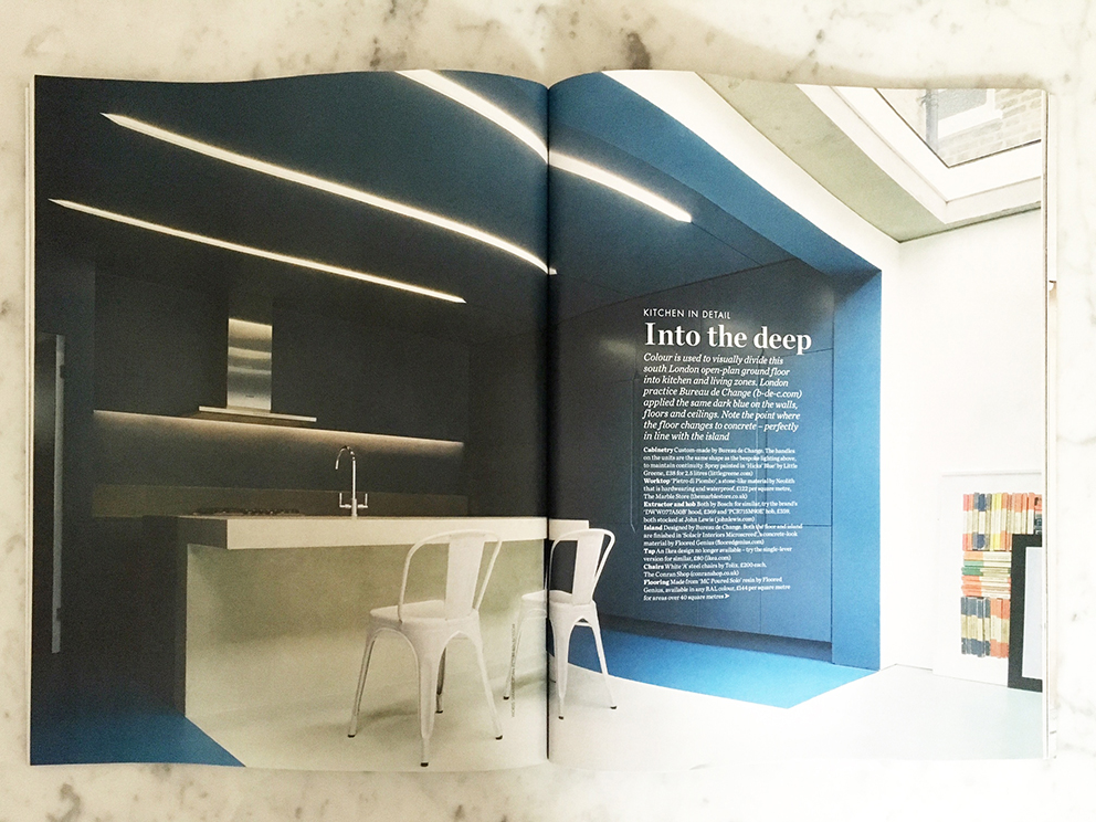 Our Slab House In Elle Deco