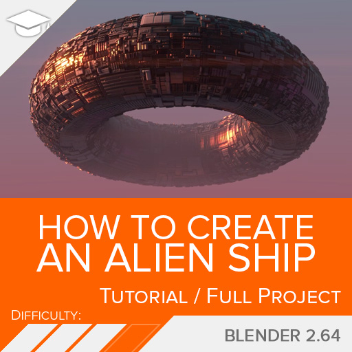How to Create an Alien Ship — blendtuts com