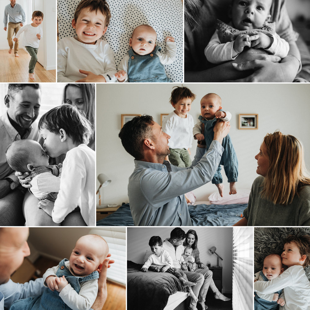 Family Session Collage
