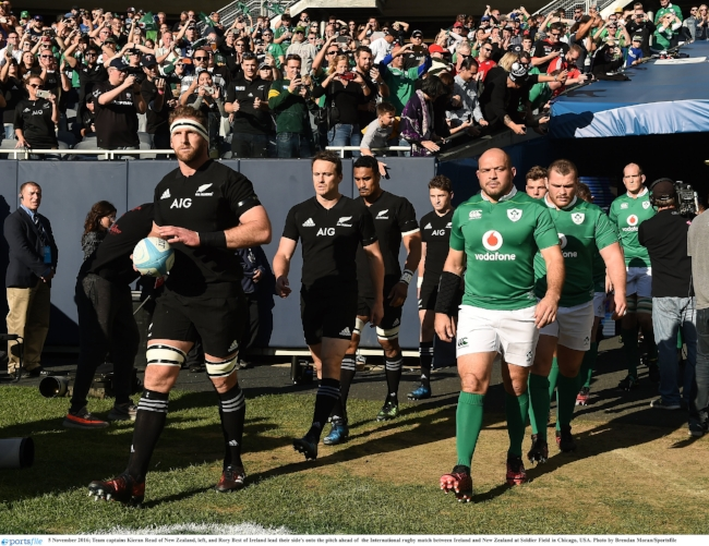 Vodafone's partnership with the IRFU was rated the best sponsorship of 2016