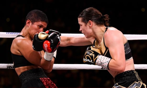 Katie Taylor in action against Cindy Serrano last year Pic: Getty