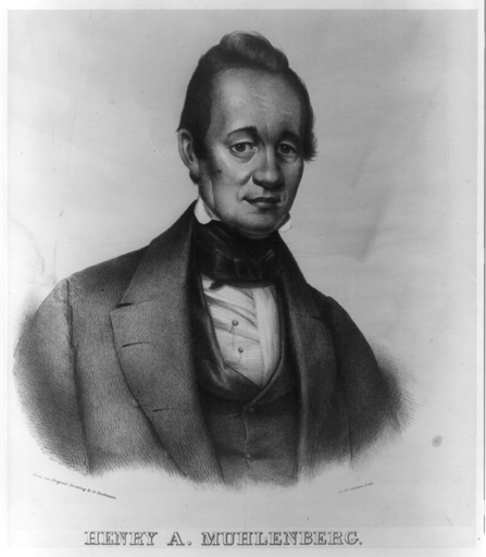 Henry A. Muhlenberg, first U.S. Minister in Vienna, Austria, appointed February 8, 1838