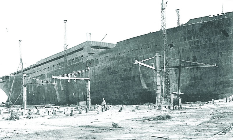 Construction of the  Kaiserin Elisabeth