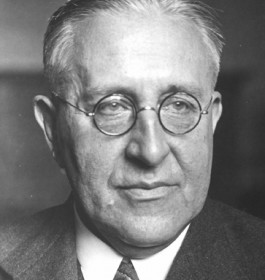 Victor Hess (1883-1964) Physicist, Nobel Prize 1936, immigrated 1938 (ÖNB)