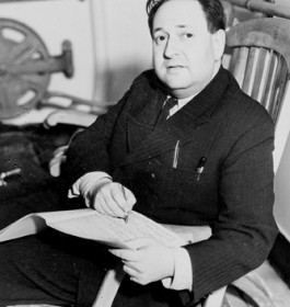 Erich Wolfgang Korngold (1897-1957) Composer, pianist, conductor, immigrated 1936 (ÖNB/NB 530280-B)