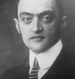 Joseph Schumpeter 1883-1950 Economist and author immigrated 1932 (c)NB_Pf 23385_C 1