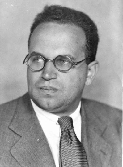 Paul Lazarsfeld 1901-1976 Sociologist immigrated 1933 (C)OENBNB 514092-B