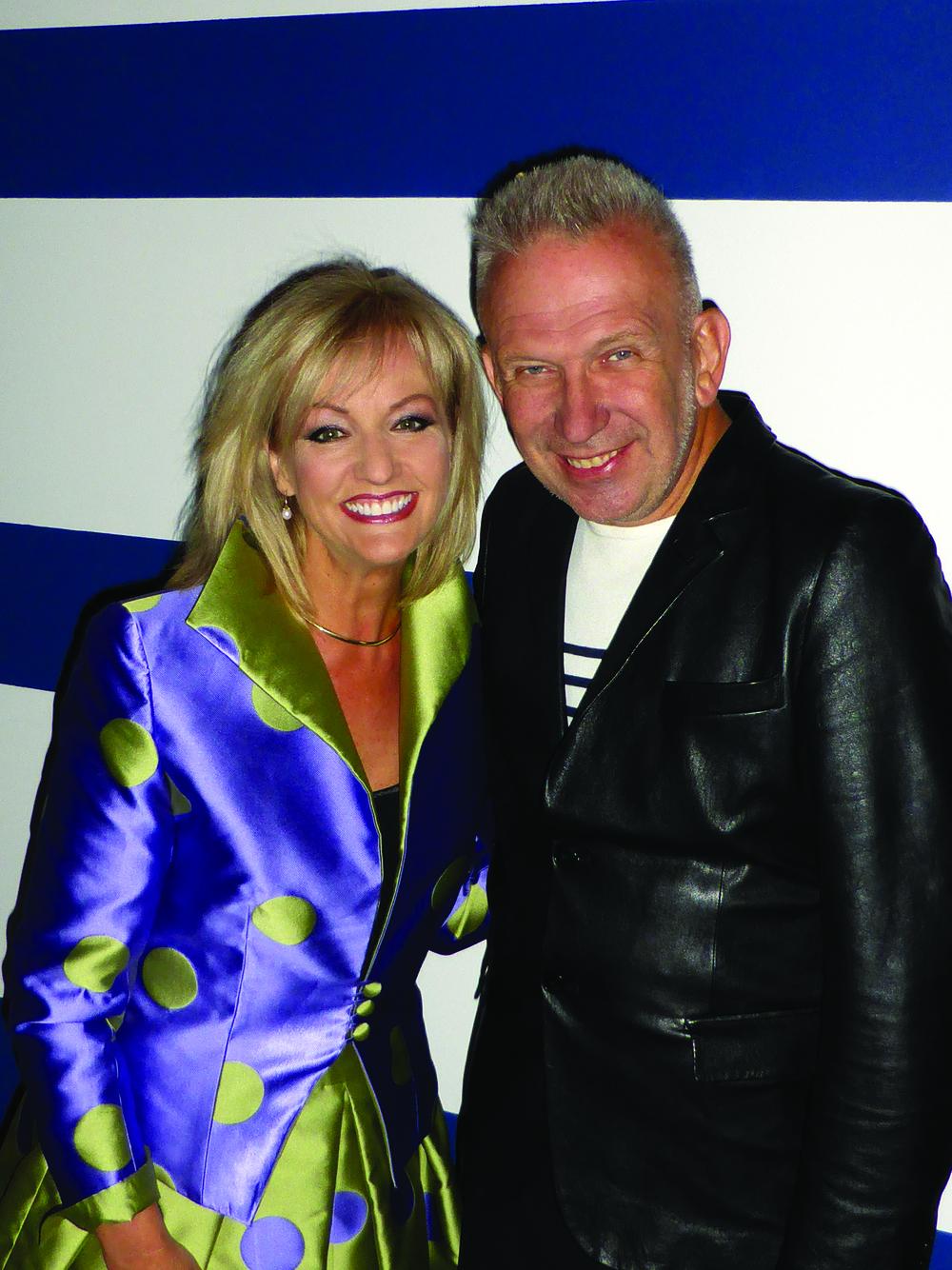 Heidi and Jean Paul Gaultier