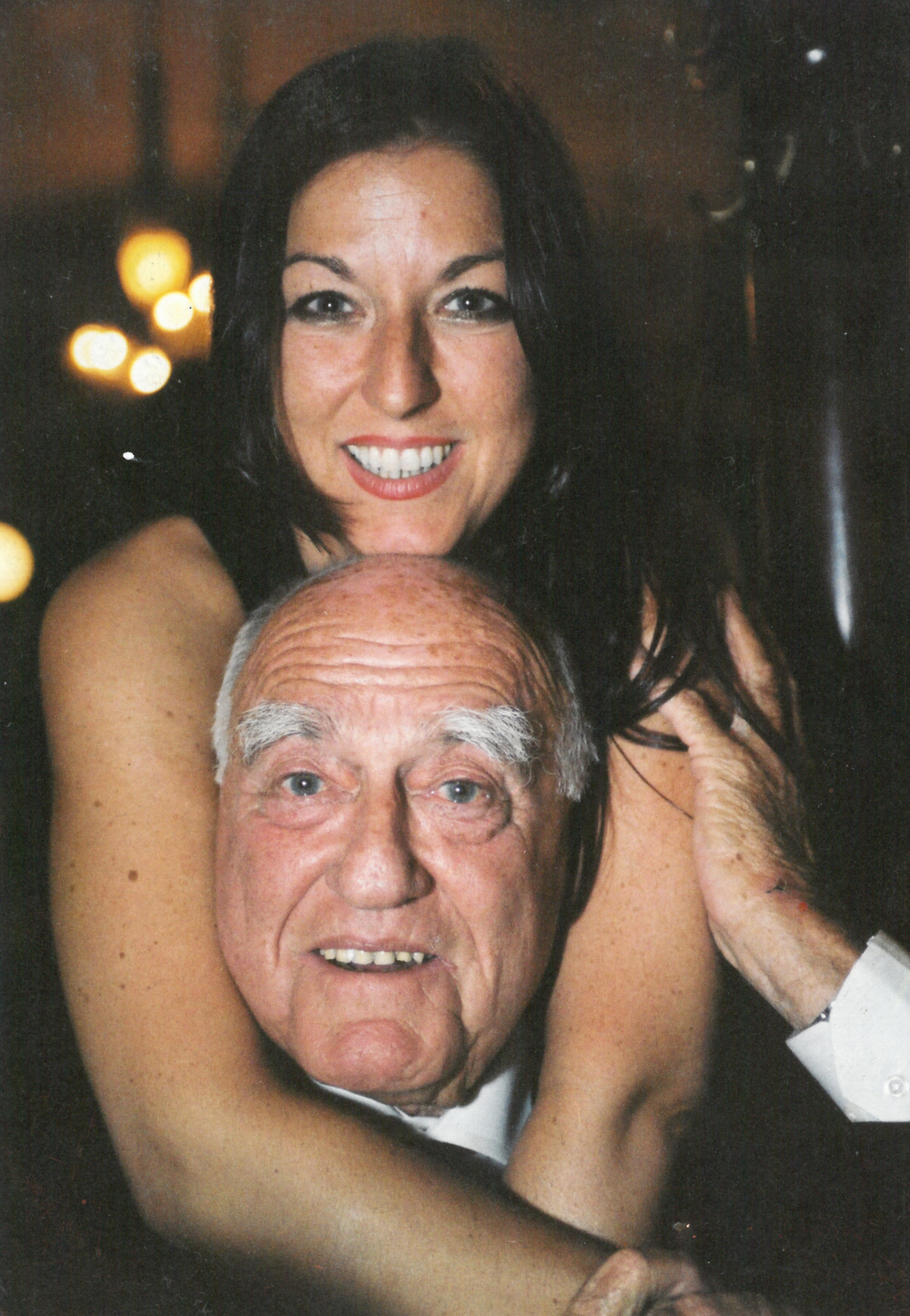 Hanna Lessing and her father Erich, 2001 © privat