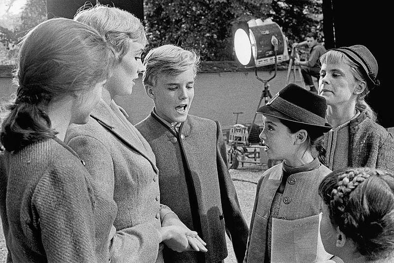 """The Sound of Music"" on Set. Salzburg, Austria, 1964. ©Erich Lessing"