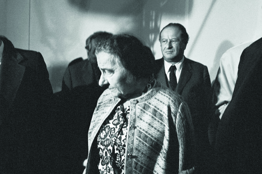 Golda Meir, Prime Minister of Israel and Austrian Chancellor Bruno Kreisky, Vienna, ©Erich Lessing