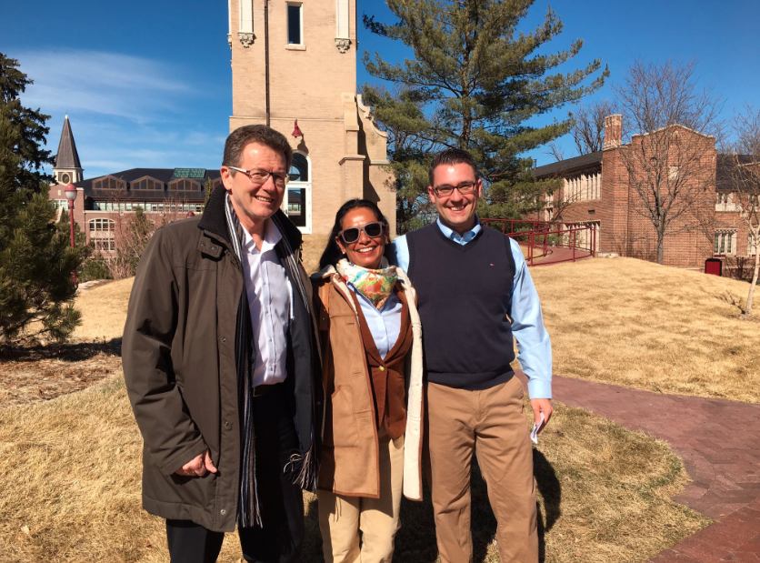 "The Ambassador together with Honorary Austria Denver Vice Consul, Mrs. Dr. Nayantara Ghosh-Ersek (international business and cross-cultural consulting for global corporations) and Prof. Philipp Schaberl (Daniels College of Business) at the campus of Denver University.                       Normal   0           false   false   false     DE-AT   X-NONE   X-NONE                                                                                                                                                                                                                                                                                                                                                                                                                                                                                                                                                                                                                                                                                                                                                                                                                                                                                     /* Style Definitions */ table.MsoNormalTable 	{mso-style-name:""Table Normal""; 	mso-tstyle-rowband-size:0; 	mso-tstyle-colband-size:0; 	mso-style-noshow:yes; 	mso-style-priority:99; 	mso-style-parent:""""; 	mso-padding-alt:0in 5.4pt 0in 5.4pt; 	mso-para-margin-top:0in; 	mso-para-margin-right:0in; 	mso-para-margin-bottom:10.0pt; 	mso-para-margin-left:0in; 	line-height:115%; 	mso-pagination:widow-orphan; 	font-size:11.0pt; 	font-family:Calibri; 	mso-ascii-font-family:Calibri; 	mso-ascii-theme-font:minor-latin; 	mso-hansi-font-family:Calibri; 	mso-hansi-theme-font:minor-latin; 	mso-ansi-language:DE-AT;}"