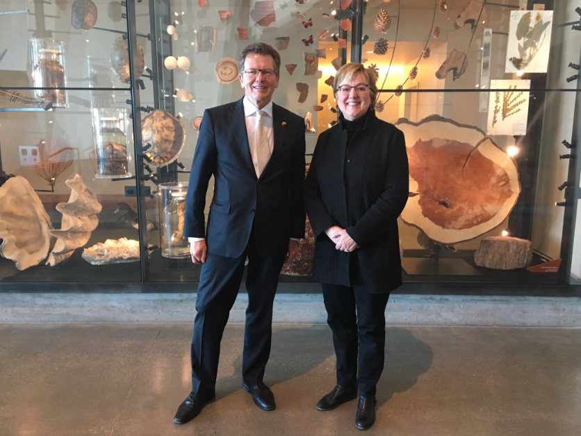 Meeting and tour of Natural History Museum with Executive Director Sarah George