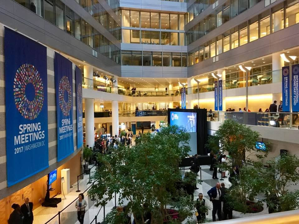 The World Bank/ IMF Spring Meetings 2017. Photo: Julia Aßl.