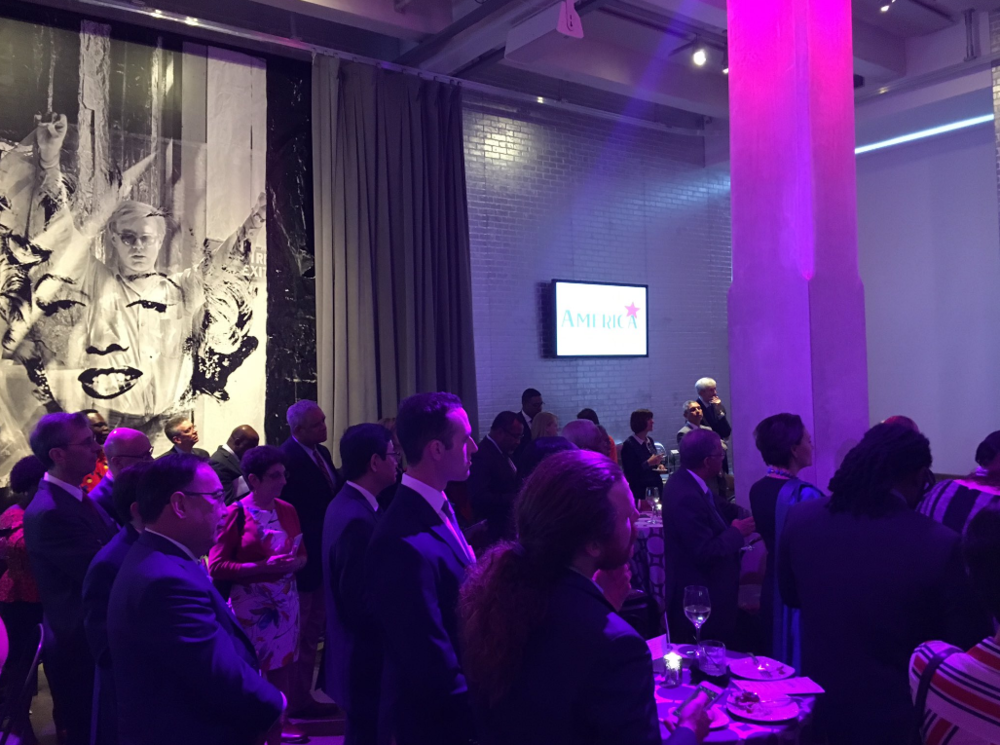 Reception at the Andy Warhol Museum.  Photo: https://twitter.com/waldnerwolfgang