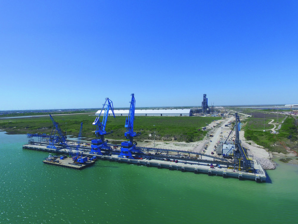 Port Corpus Christi, Texas Copyright: voestalpine AG, Source: voestalpine.com
