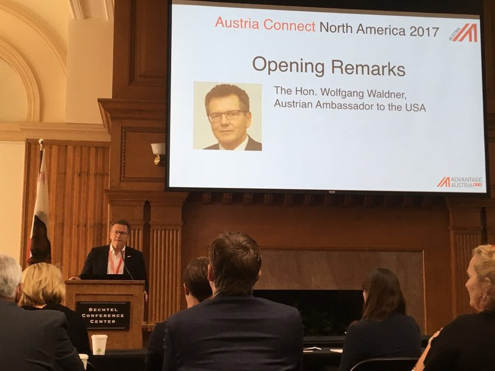Ambassador Wolfgang Waldner's opening remarks at the  AUSTRIA CONNECT 2017  conference