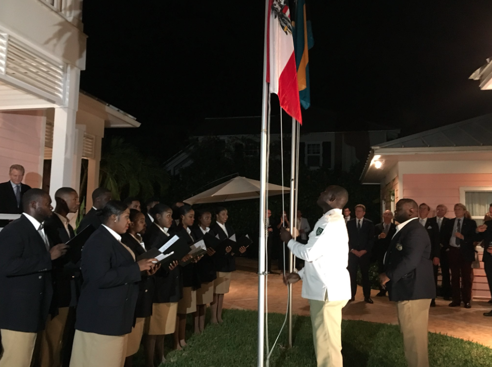 Inauguration of Austrian Honorary Consul Wolfgang Reichenberger in Nassau
