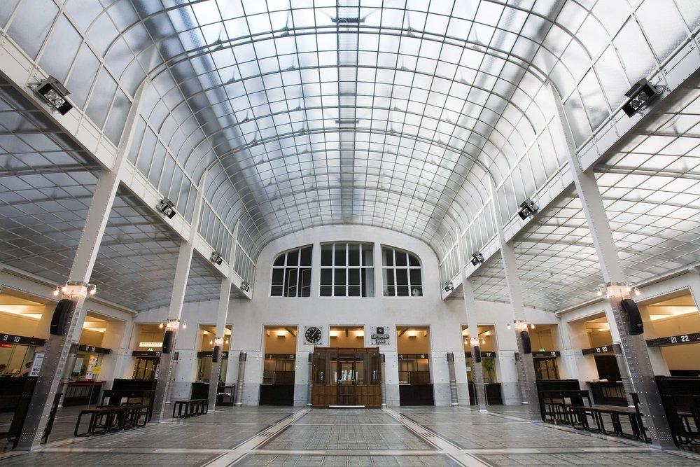 Otto Wagner,Postal Savings Bank,Vienna. Photo: Wikimedia/Jorge Royan