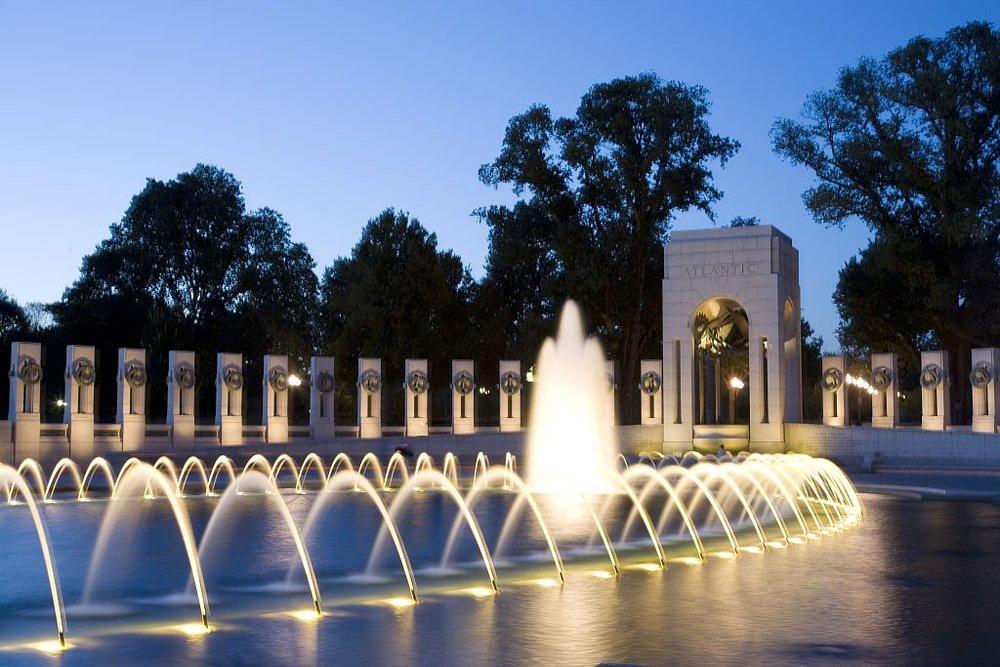 Friedrich St. Florian  National WWII Memorial Washington, D.C., 2004  Photo: Wikimedia/ Carol M. Highsmith
