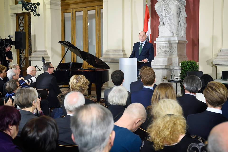 (c) Austrian Parliament, Photo: Johannes Zinner